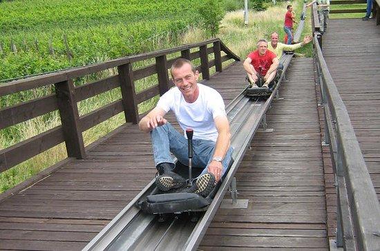 Berijd een bobslee in Praag