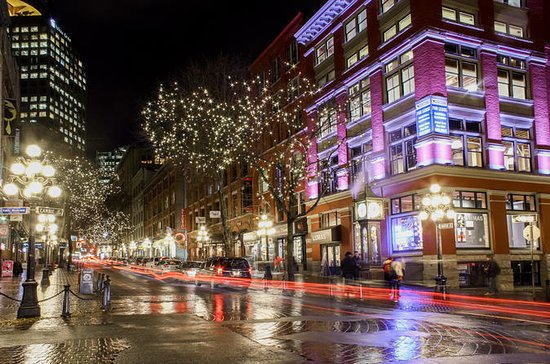 Gastown Night Photography Tour