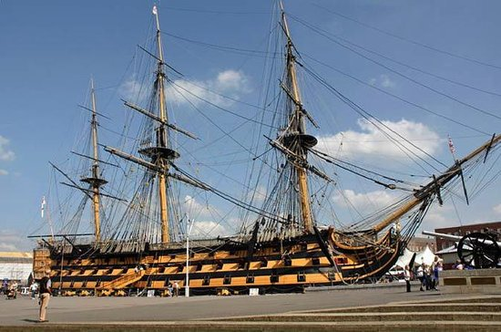 Portsmouth Historic Dockyards och HMS ...