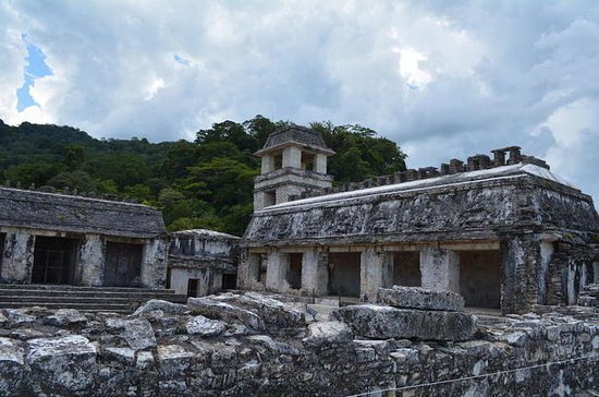 Palenque Archaelogical Site, Agua...