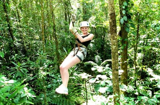 Zipline and Mud Spa Combo Tour in Fiji