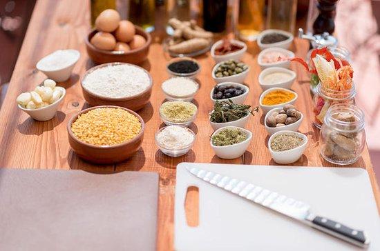 Cuisine privée de Santorin...