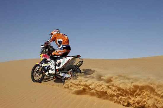 KTM Desert Dirt Bike Tour