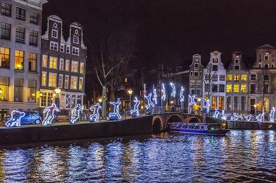 Amsterdam Light Festival 1.5-Hour Canal Cruise