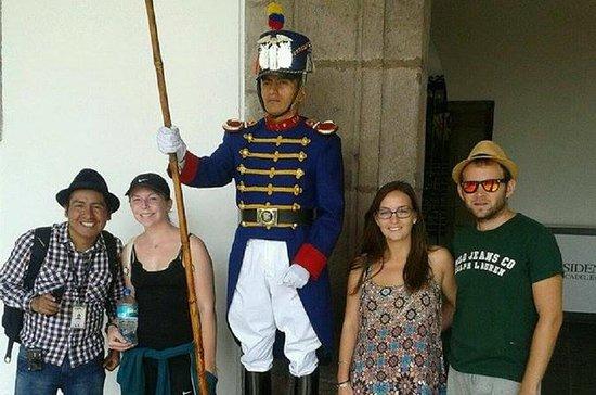 Tour de la ciudad de Quito en grupos...