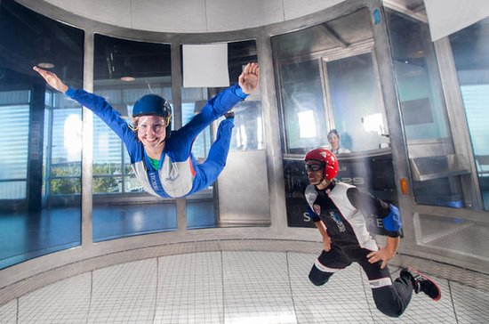 Montreal Indoor Skydiving...