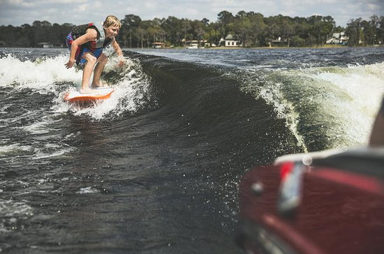 Private Virginia Beach Wake Boat Charter