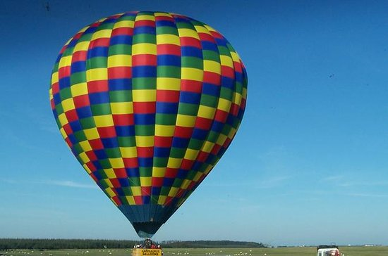 Hot Air Balloon Champagne Flight from