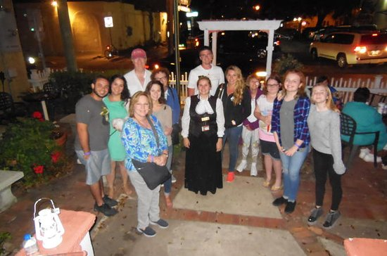 Haunted Stroll genom Old St. Augustine