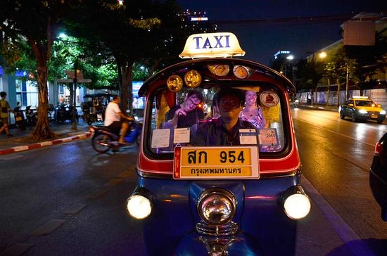 Bangkok Night Food and City Tour by Tuk Tuk