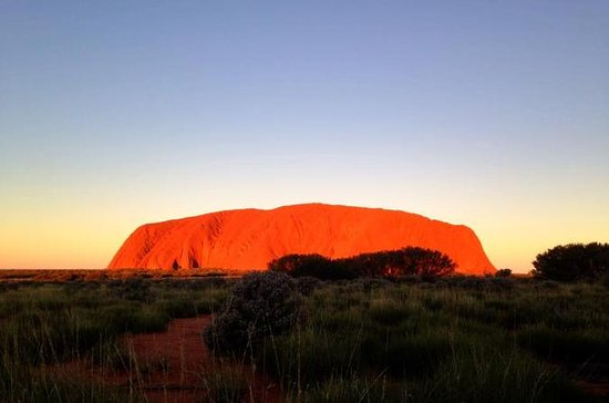 Small Group Uluru Sunset Viewing Tour