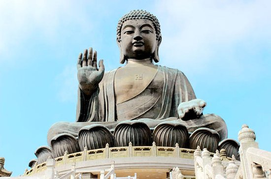 Lantau Island and Giant Buddha Cable Car Group Tour With Hotel Pickup...