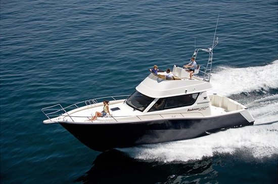 Motorbootfahrt auf den Azoren