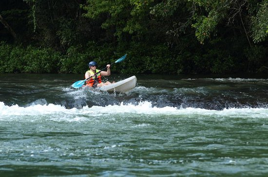 Kayaking at Mopan River From San...