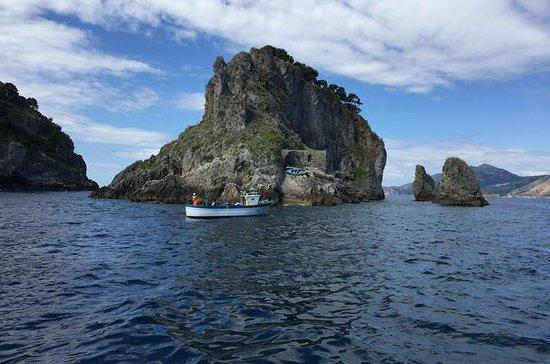 Excursión en barco privado de Salerno...