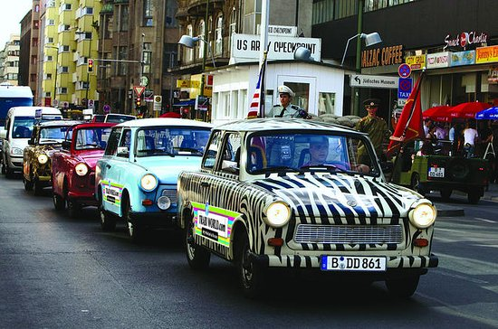 Berlin Live-Guided Self-Drive Trabi...