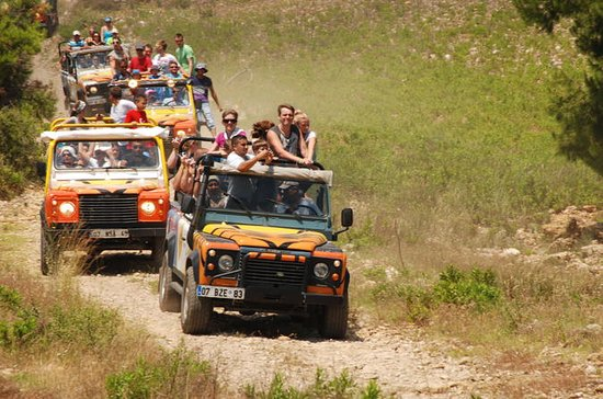 Jeep Safari and White Water Rafting...