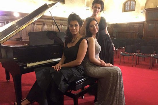 Concert d'opéra italien à l'église...