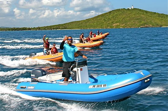 Puerto Rico 3-Person Speedboat...
