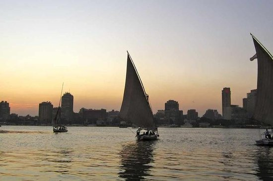 Cairo by Night Tour Including Felucca...
