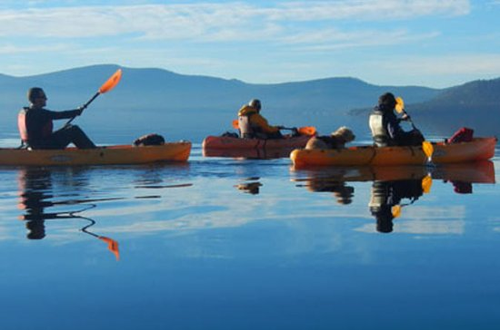 Guided Kayak Tour of Sand Harbor