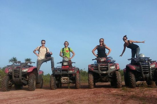 ATV Quad and Zipline Tour from...