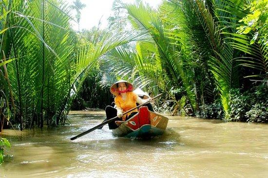Giro in barca del Delta del Mekong