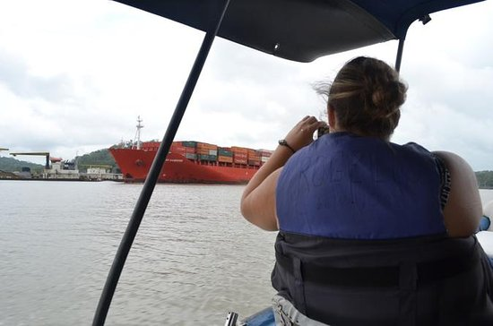 Panama Canal and Gatun Lake Jungle ...