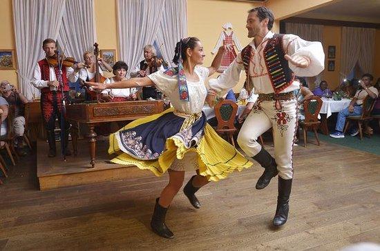 Tschechischer Folklore-Abend in Prag...