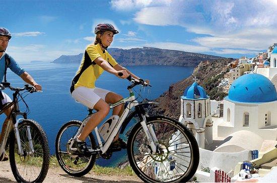 電気自転車によるサントリーニツアー