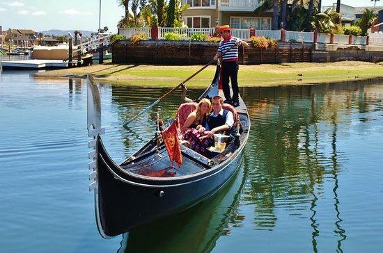 Gondolresa i Newport Harbor