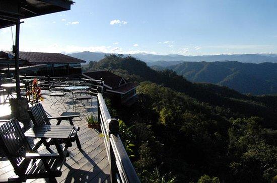 Land Abendessen mit Panoramablick in...