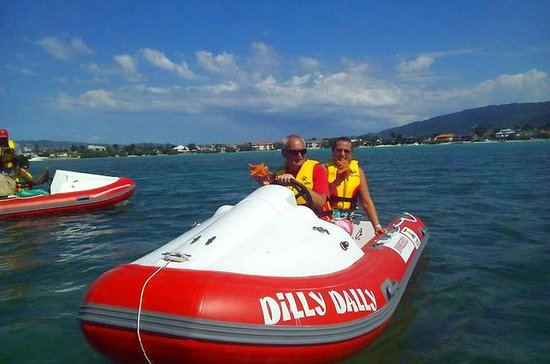 Montego Bay Self-Drive Mini Boat Tour