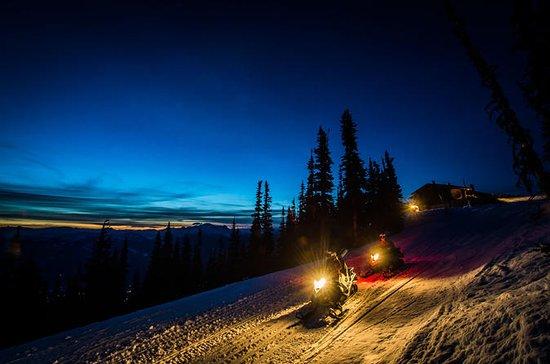 Blackcomb Mountain Winter Snowmobile