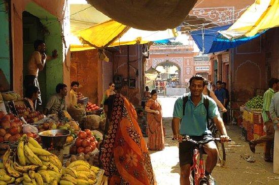 Jaipur halve dag culturele fietstocht