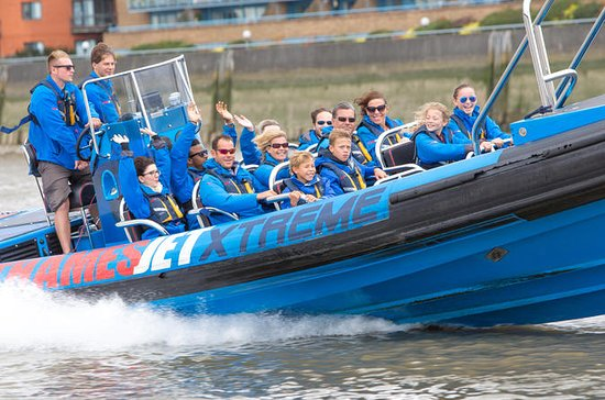 River Thames Fast Boat Experience in...