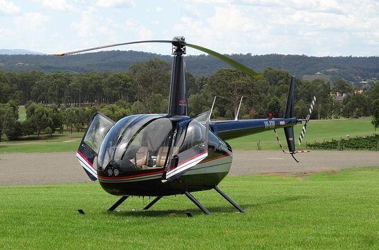 3-Hour Hunter Valley Scenic Helicopter Tour Including 3-Course Lunch...