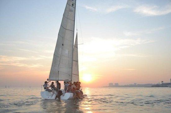 Sunset Sailing in Mumbai Harbour