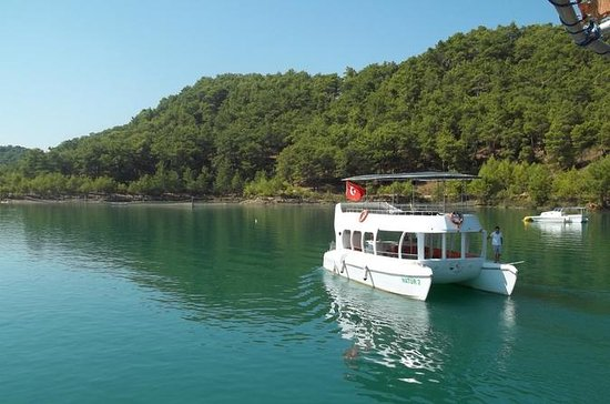 Cabrio Bus und Green Lake Catamaran...