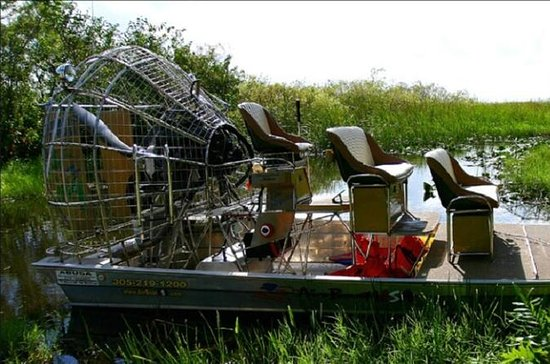 2-Hour Private Air Boat Tour of the...