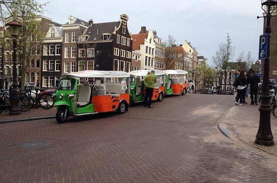 Amsterdam City Tour by Tuk-Tuk with...