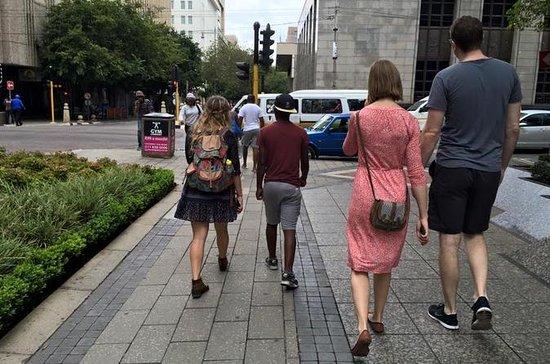 Stadtrundgang in Johannesburg...