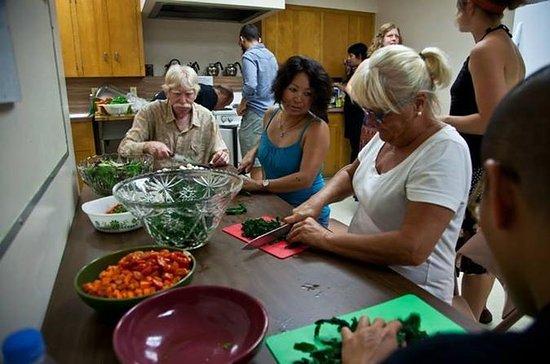アカプルコのメキシコ料理教室と市町村市場ツアー