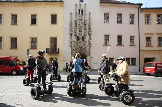 1.5-hour Segway Tour in Brno: Through...