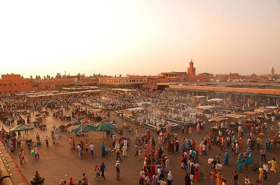 Destaques de Marrakech: Tour de dia...