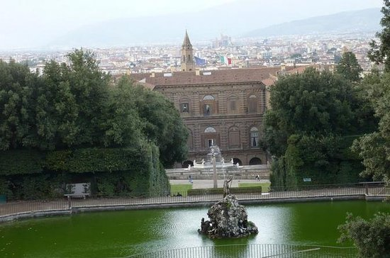 Pitti Palace och Boboli Gardens ...