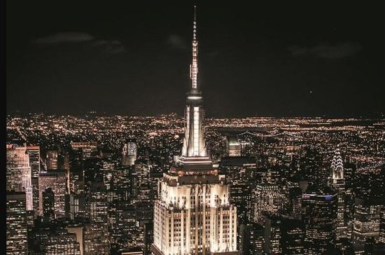 Empire State Building: Top Deck Express Pass, Plus Dinner