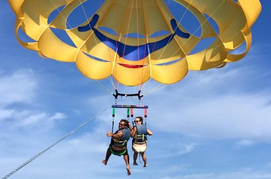 Parasailing Around Saint Pete Beach