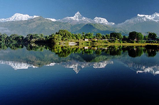 Pokhara with Sarangkot Sunrise, Phewa...