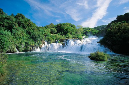From Dubrovnik to Krka National Park Day Trip with Guide